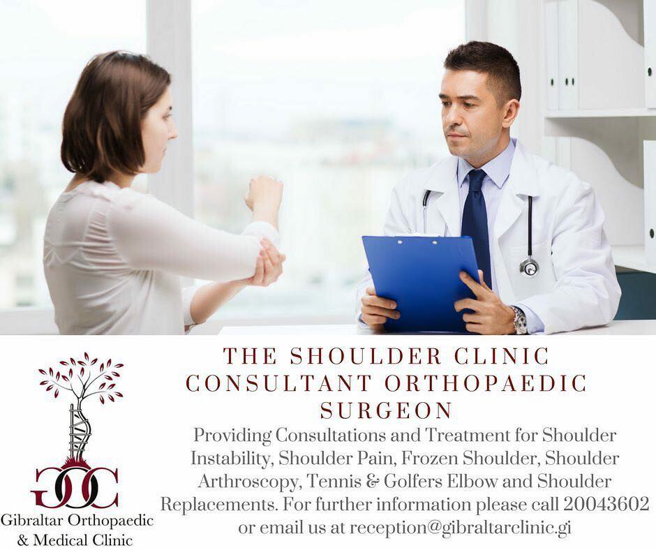 Gibraltar Orthopaedic & Medical Clinic - MEDICAL CLINICS